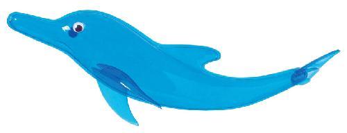 イルカ(スケルトンスプラッシュ・全長60cm・塩ビ製)DE1176