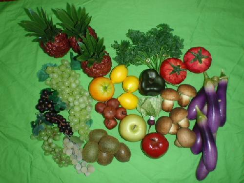 食品サンプル在庫処分果物&野菜セット(E)17種40個セット