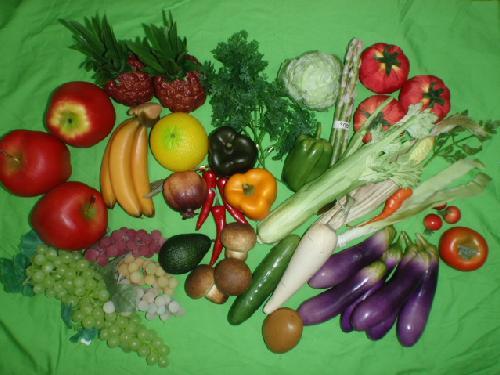 食品サンプル在庫処分果物&野菜セット(D)29種50個セット