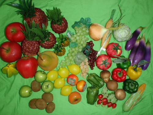 食品サンプル在庫処分果物&野菜セット(C)29種50個セット