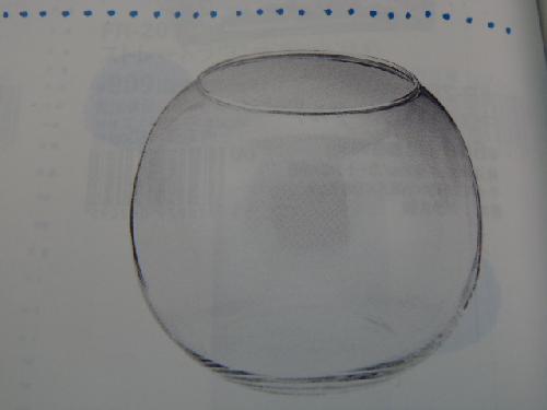 ガラス製フラワーベース(ビューレットM・6個入り・h11×15×10cm)