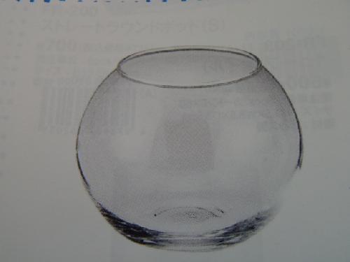 ガラス製フラワーベース(ビューレットS・6個入り・h10×12×7cm)