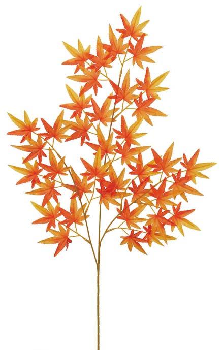 もみじ枝(中・全長74cm・オレンジ)LES679