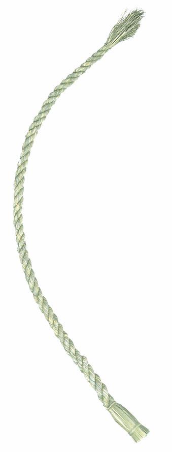 正月飾り・120cmしめ縄(L・幅約2.5〜3.5cm)・自然素材 ND1003L