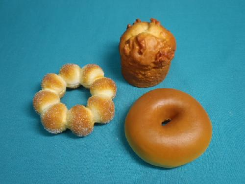 食品ディスプレイパン3種セット(フォーム素材)