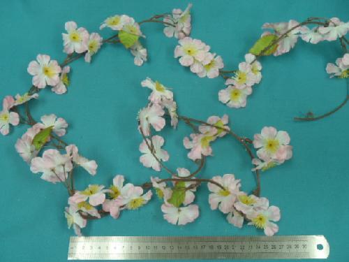 桜ガーランド(全長180・花径5cm)FLG109
