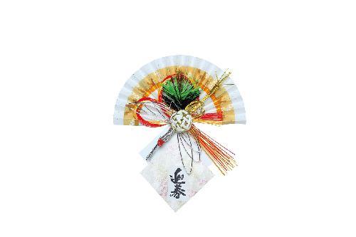 お正月飾り(全長22cm・ペーパー製)大DIMI61015