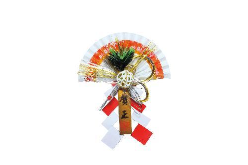 お正月飾り(全長22cm・ペーパー製)大DIMI61016