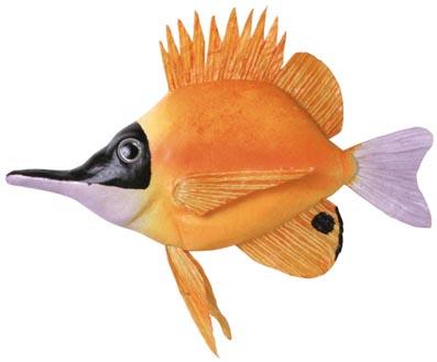 熱帯魚(フォーセプスフィッシュ27cm)スチロール製DE1197