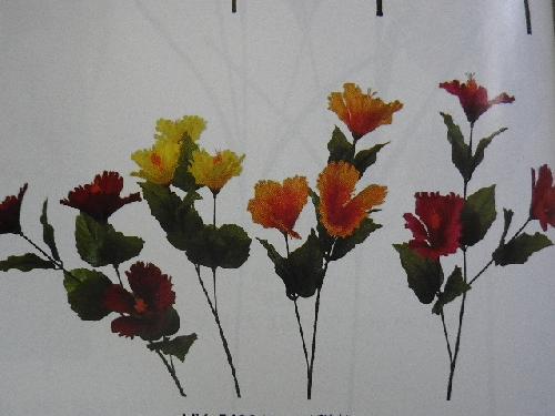 サテンハイビスカス×3(花径8cm・単色36本入り)MY5420