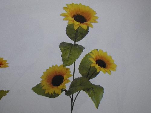 ヒマワリ×3(花径6,5cm・36本入り)MY5401W