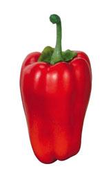野菜ディスプレイ(100mmピーマンレッド3ヶ入り・スチロール製)VF1082