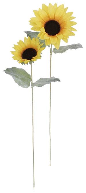 販促用造花卸販売(ヒマワリS花径15cm12本入り)FLS5071S