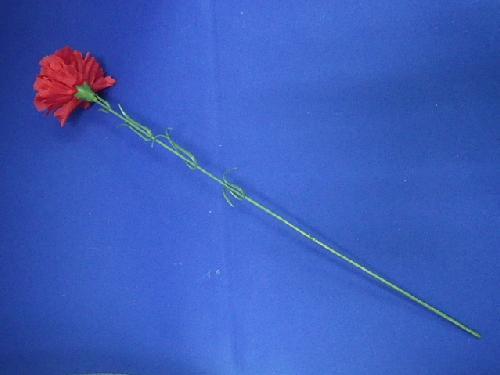 卸販売販促用造花(カーネーション96本入り花径7cm全長41cm)MY5448