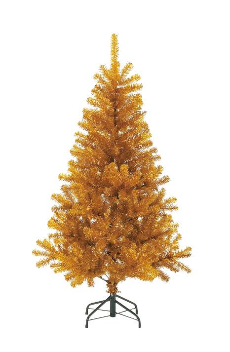 卸販売クリスマスノーブルパインワイドツリー(240cm・ゴールド)PATR6988