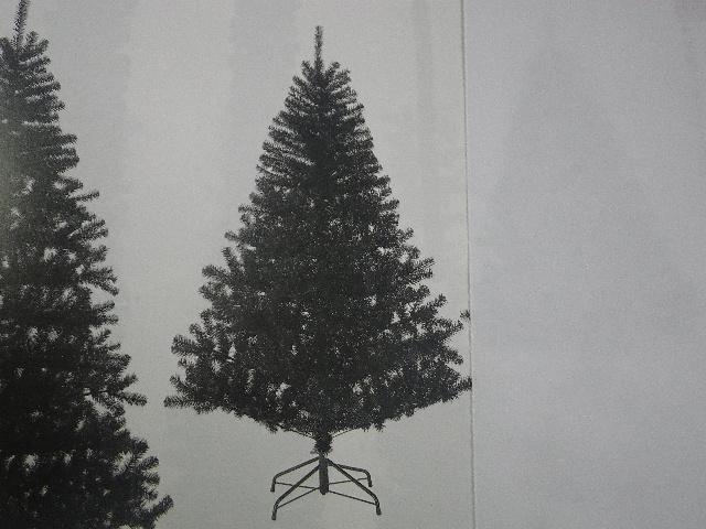卸販売クリスマスノーブルパインワイドツリー(180cm・ブラック)PATR6984
