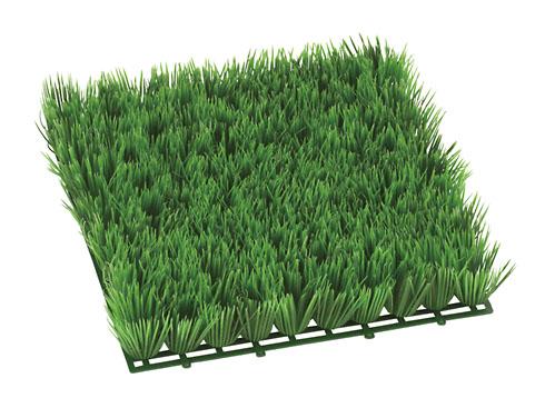 ガーデンマット屋外可(ローン・28×28×6cmプラ製)LEE7027