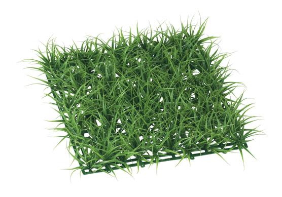 3枚セット卸価格ガーデンマット屋外可(ロンググラス(ツートングリーン)30×30×5cmプラ製)LEE7024