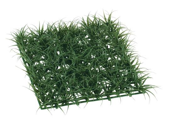 ガーデンマット屋外可(ロンググラス(ダークグリーン)30×30×5cmプラ製)LEE7024