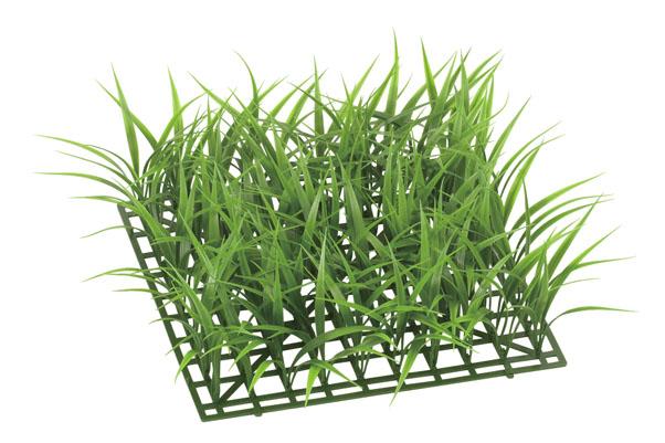 ガーデンマット屋外可(トールグラスS)30×30×12cmプラ製)LEE7028S