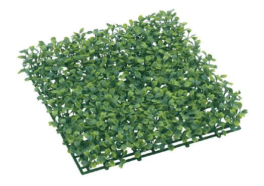 ガーデンマット屋外可(ボックスウッド)30×30×4,5cmプラ製)LEE7006
