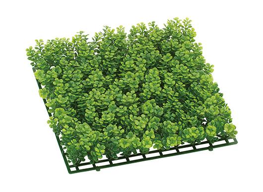 3枚セット卸価格ガーデンマット屋外可(ミニボタンリーフ)30×30×5cmプラ製)LEE7050