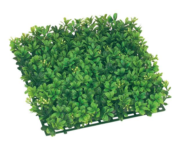 3枚セット卸価格ガーデンマット屋外可(ボックスウッド)33×33×8cmプラ製)LEE7042