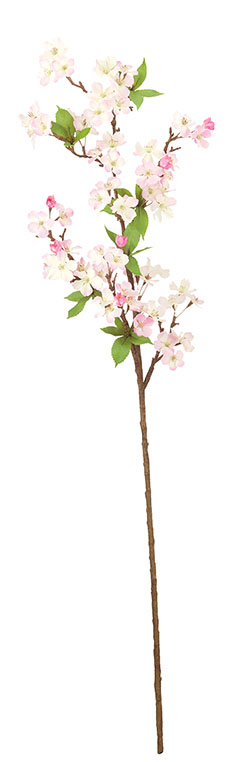 卸販売造花桜(吉野桜スプレイ・全長104cm花径3〜4.5cm・6本入り)FLS5312