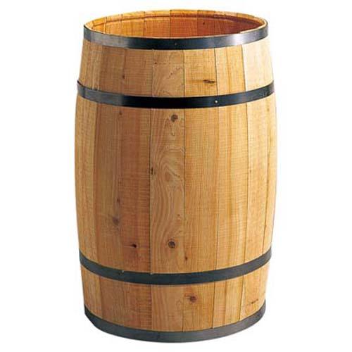 ディスプレイ用木製樽・タル(L・全長70・直径40cm)PABO7487