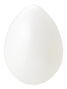 イースターエッグ12cm乳白色塩ビ製VF1223SM