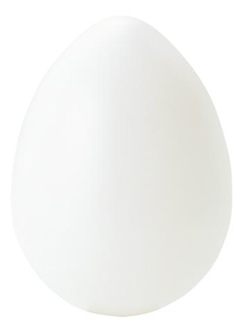 イースターエッグ15cm乳白色塩ビ製VF1223L