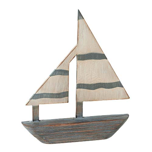 45cmオールドウッドセイルボートDIMA3736(コンビニ後払いの場合有り)