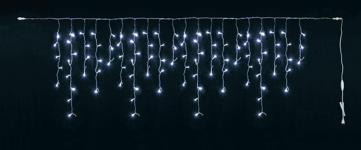常点灯100球LEDアイシクルライト(クリア/クリアコード)他商品同送不可LT1084