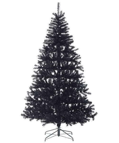 防炎クリスマスツリー(240cmブラック幅150cm)PATR6985