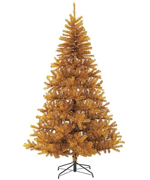 防炎クリスマスツリー(240cmゴールド幅150cm)PATR6988