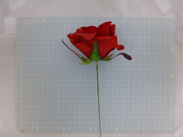 ミシェルローズピック(プレミアムレッド)花径約8・全長約21cmFLP6014