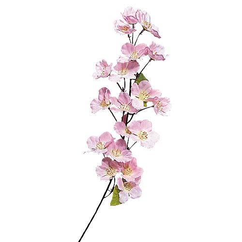 卸販売造花桜(小枝・全長60cm花径5cm・12本入り)FLSP1431他商品同送不可