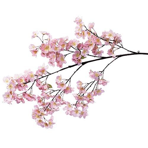卸販売造花桜(大枝・全長110cm花径5cm・3本入り)FLSP1426他商品同送不可