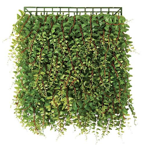 卸価格壁面造花ウォールマット・リーフマット(30cm幅30cmカーリーファーン)LEMT7471