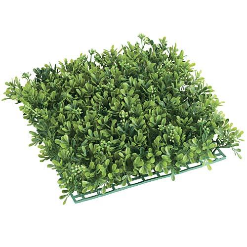 卸価格壁面造花耐水マット25cm角(ボックスウッドバド)LEMT7485