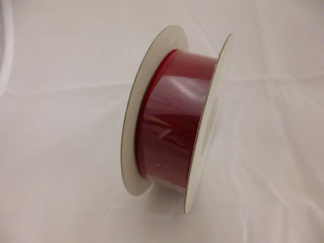 在庫処分特価リボン巻き�(ベルベットレッド2cm×9M)粘着なし