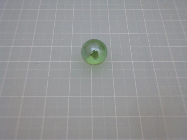 ビー玉・ガラス玉オーロラ12,5mm(ライトグリーン)100粒
