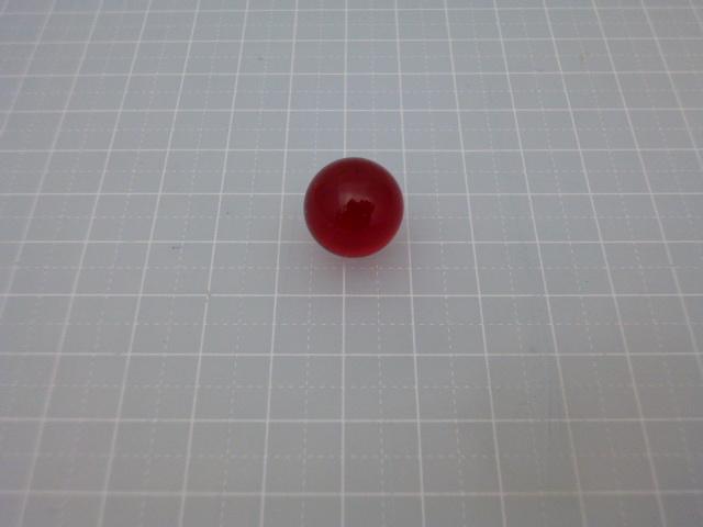 ビー玉・ガラス玉クリアカラー15mm(レッド)100粒