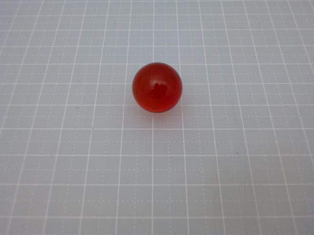ビー玉クリアカラー17mm(レッド)100粒