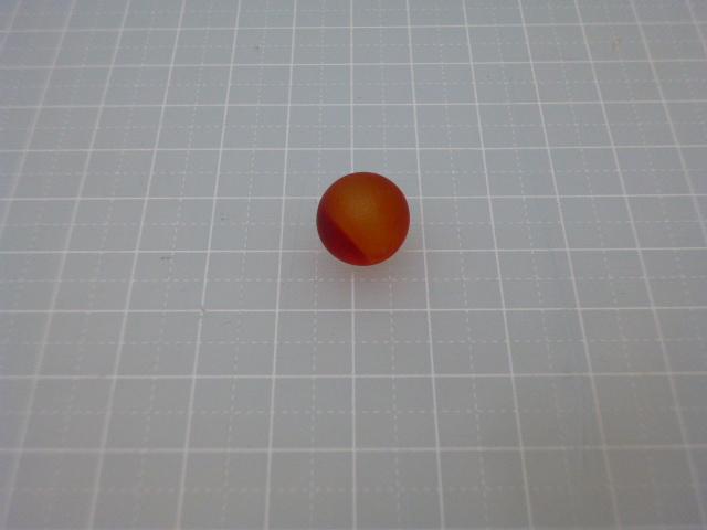 ビー玉・ガラス玉フロスト12,5mm(レッド)100粒