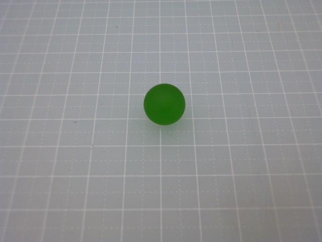 ビー玉フロスト12,5mm(グリーン)100粒