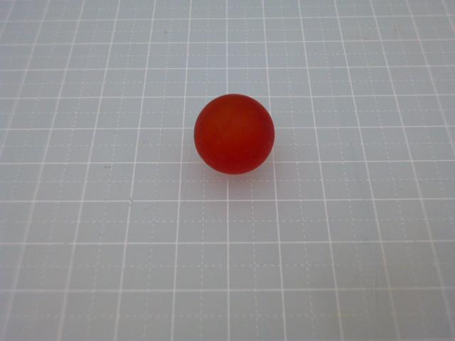 ビー玉フロスト17mm(レッド)100粒