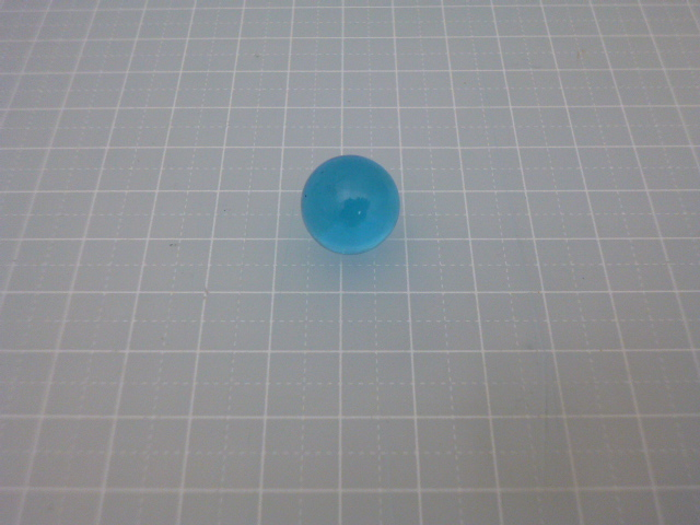 ビー玉卸販売ハナショウ単位(ビー玉クリアカラー15mm(ブルー)3000粒)