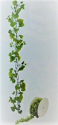 造花つた・プラスチック製造花ロールチェーンガーランド30M巻(ポトス)GLA1189「コンビニ後払いの場合あり