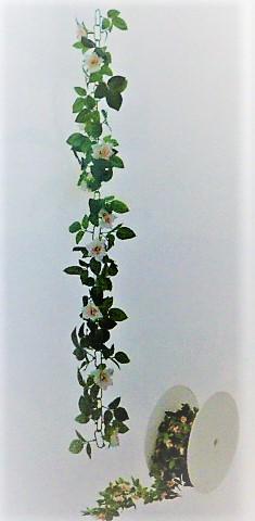 造花つた造花ロールチェーンガーランド30M巻(ローズピンク)GLA1187A「コンビニ後払いの場合あり